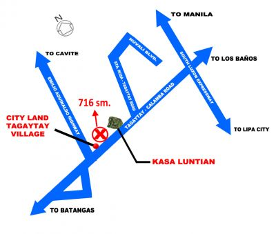 Philippines-Tagaytay 716sm vacant lot for lease.
