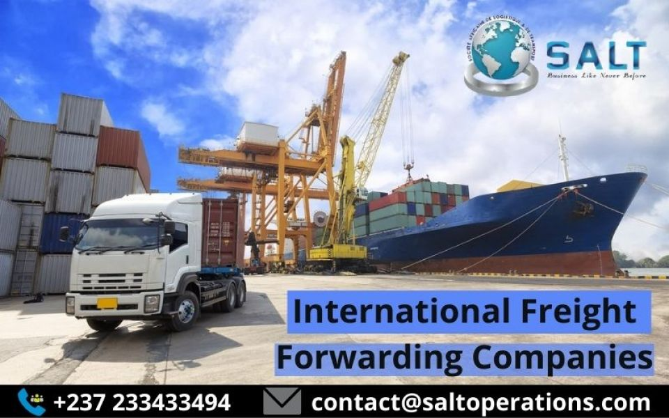 international freight forwarding companies