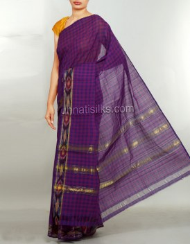 Online shopping for pochampally cotton sarees by unnatisilks