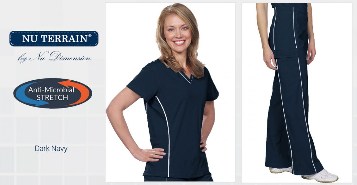Nu-dimension | Women's Scrubs Pants, Plus Size Scrubs
