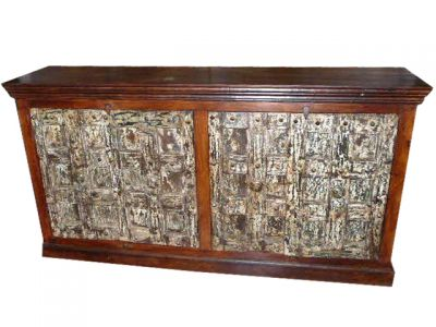 Carved Old Doors Chest Sideboard Furniture India