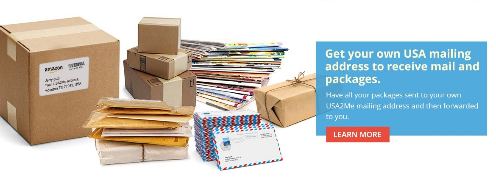 US Mail Service and Package Forwarding Services | USA2ME