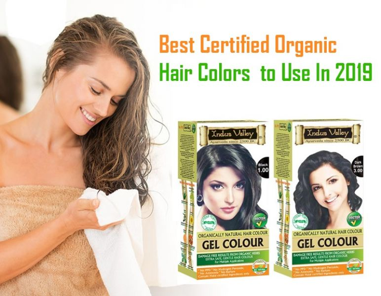 100% Pure and Natural gel hair color