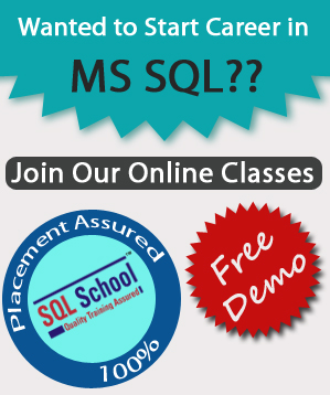 Project Oriented SQL Server  Practical Online Training