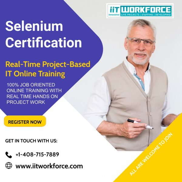 Have A Selenium Project At IITWorkforce To Have A Bright Career In The Software Testing Industry!