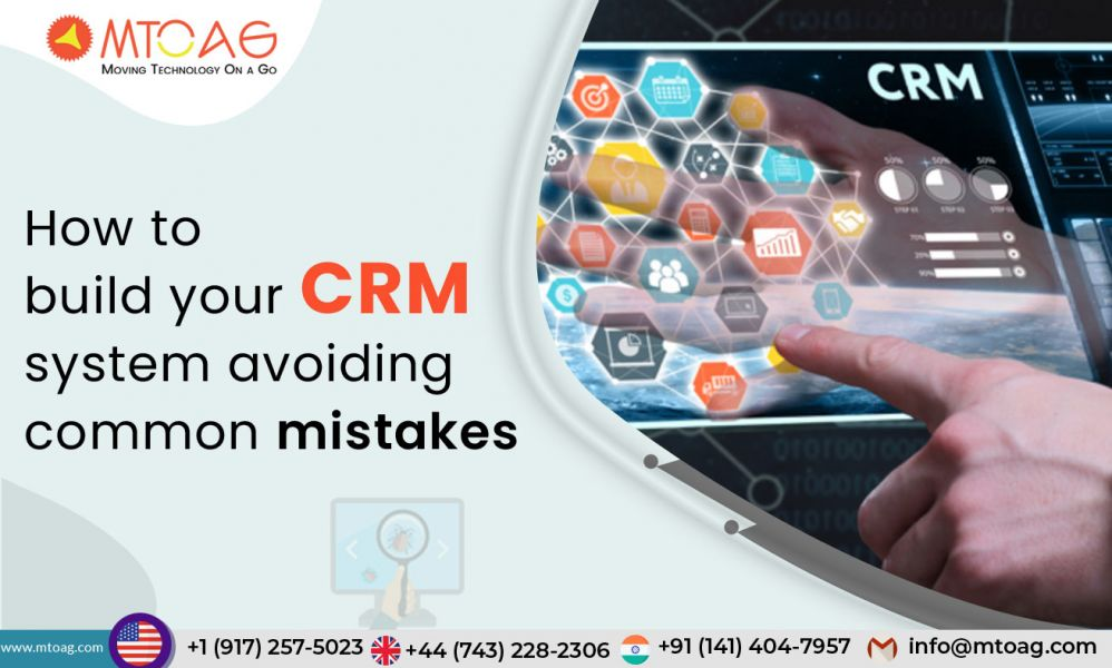 how to develop crm software