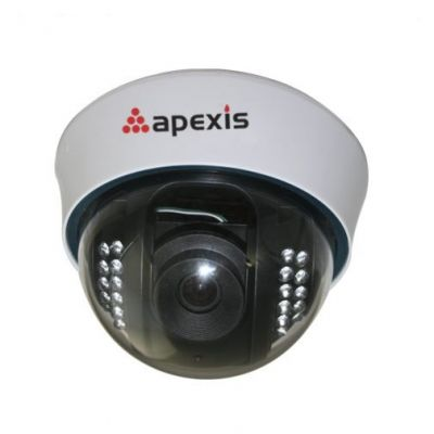 Waterproof Dome ip Camera with IR-cut and H.264 sensor Compression, Supports Motion Detection