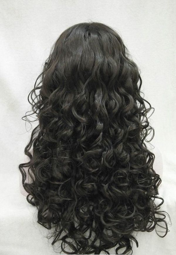 Curly Hair Woman Wig