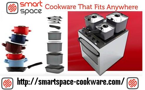 Nestable cookware | SmartSpace Cookware