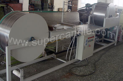 Candle Wick Coating Machine, Wick Waxing Machine, Wick Priming Machine, Wick Soaking Machine, Wick S