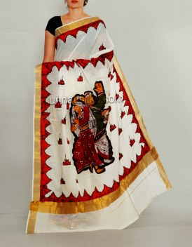 Online shopping for summer cotton saris by unnatisilks