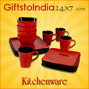 Send Kitchenware items through GiftstoIndia24x7.com