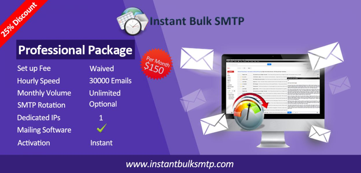 Worldwide SMTP Service, SMTP service for sending your emails,