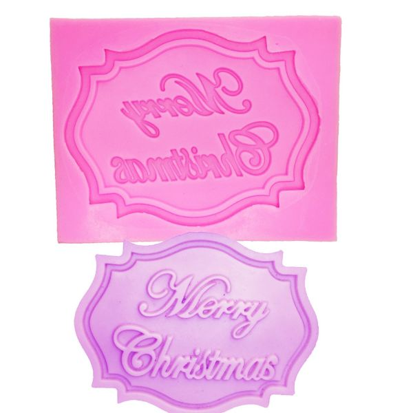 Merry Christmas Letter Mould