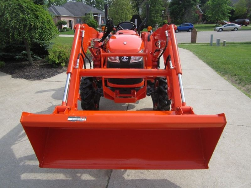 2011 Kubota L3800 4WD Loader 38HP