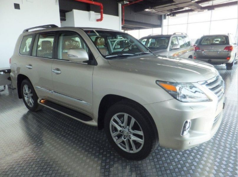 My ad is basically placed regarding my car for sale, the car is a 2013 Lexus LX 570 Base