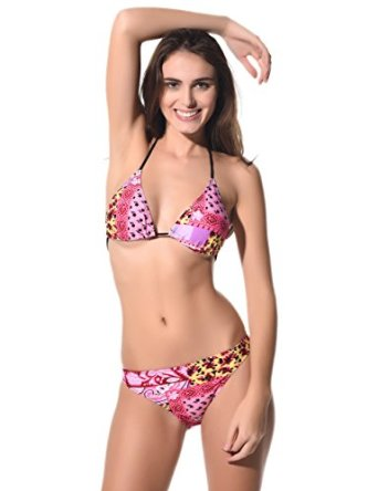 RONGR Bikini Women Sexy Swimwear 2pcs Beach Swimsuits