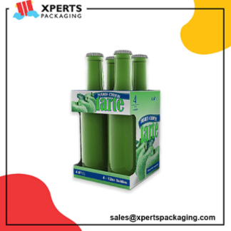 Get Custom Bottle Packaging Boxes at wholesale rates