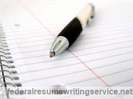 Federal Resume Writing Service Help