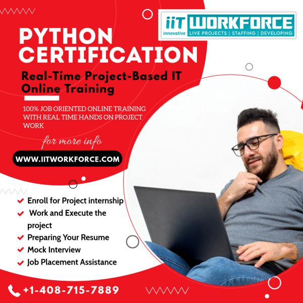Advance Your Career With Our Python Training course From IITWorkForce!