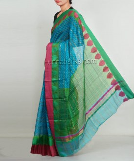 Online shopping for x-mas kota silk saris by unnatisilks