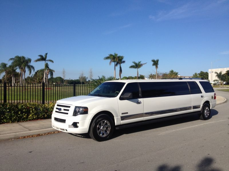 Rent limo in florida