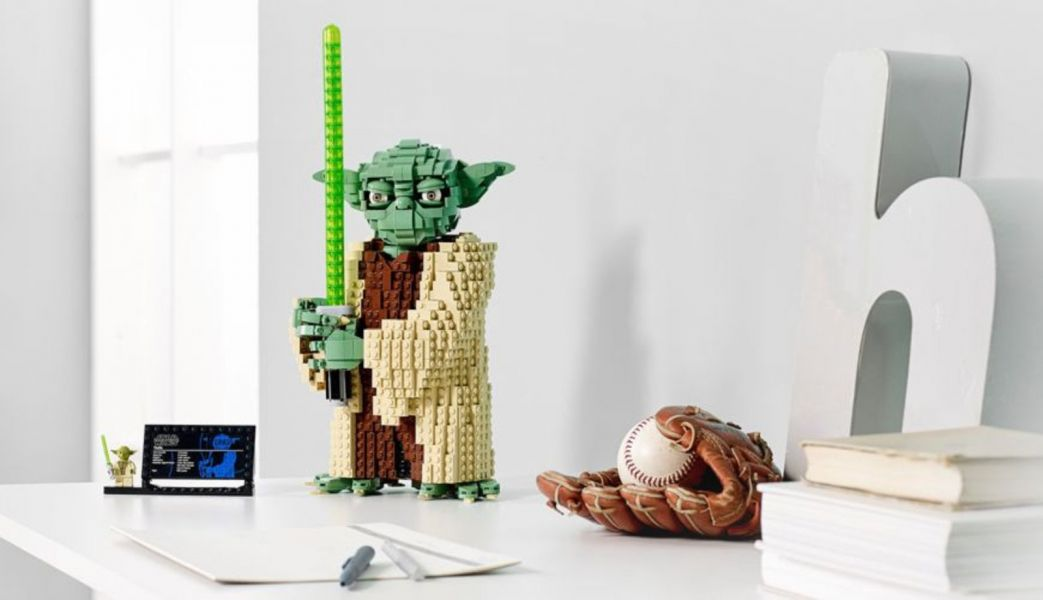 LED Light Parts For LEGO YODA 75255