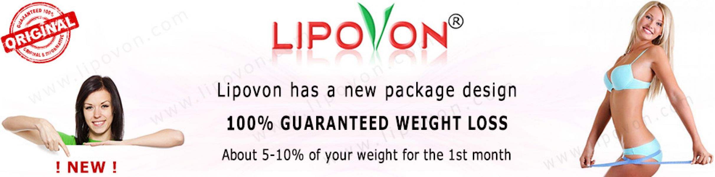 Lose weight quickly and easily with Lipovon!