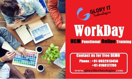 Workday HCM Functional Training Free Demo on 16/05/2016 at 6.30 AM (IST)