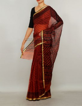 Online shopping for party pure kota silk sarees by unnatisilks