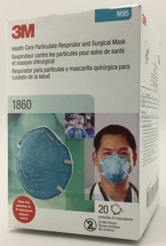 3M Particulate Respirator 8210 N95 Masks for Sale