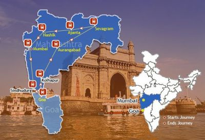 Get the complete routed destinations of Deccan Odyssey Train
