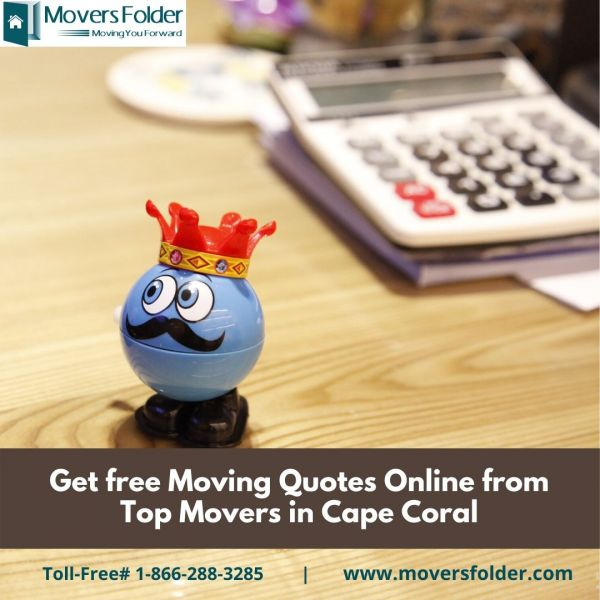 Get free Moving Quotes Online from Top Movers in Cape Coral