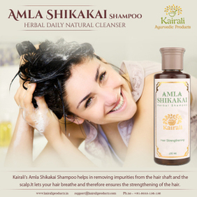 Kairali's Amla Shikakai Shampoo for Best Hair Care