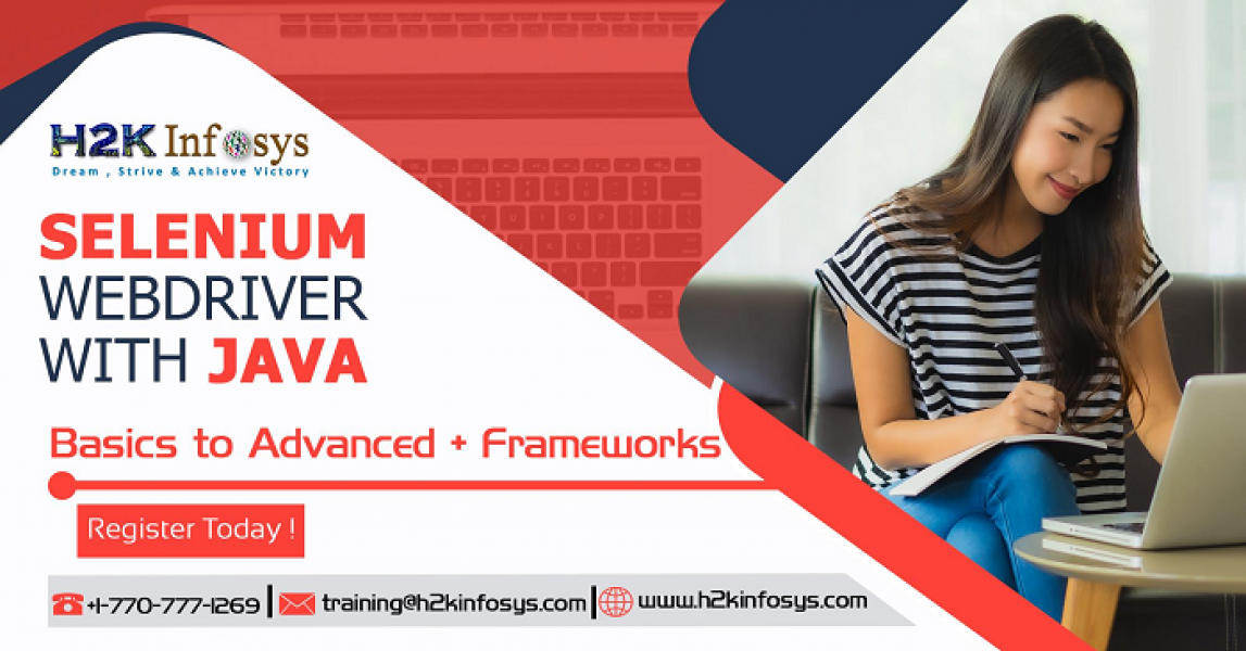 Selenium with Java Training Classes Online