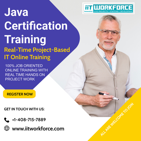 A 100-hour Java Certification Training for Beginners and the Experienced