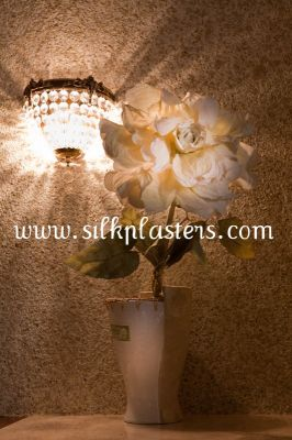 Looking for unique wall coating, SILK PLASTER could help you!