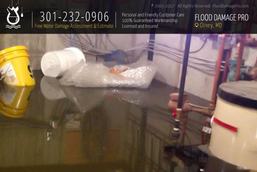 Water Damage Restoration in Olney, MD