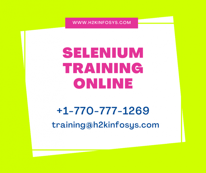 Learn Selenium Automation Testing Training