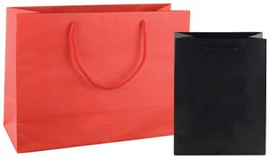 Paper Euro Totes Shopping Bags