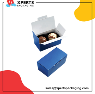 Get Custom Truffle Packaging Boxes with logo