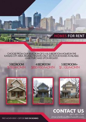 Affordable homes for rent - Starting at $750/month!