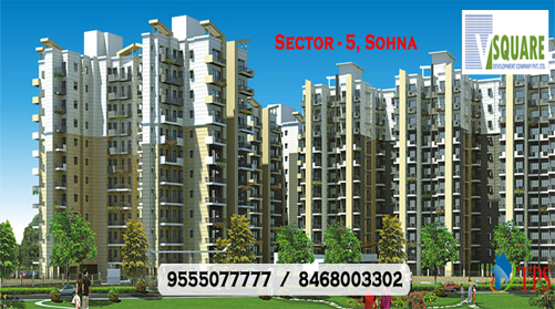 Vsquare New project Sohna @ 9555077777