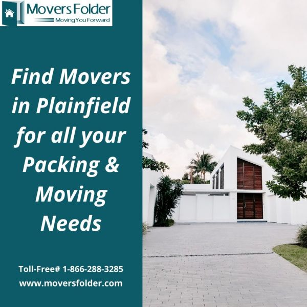 Find Movers in Plainfield for all your Packing & Moving Needs