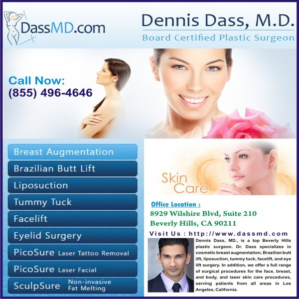 Local Plastic Surgeon in Beverly Hills CA