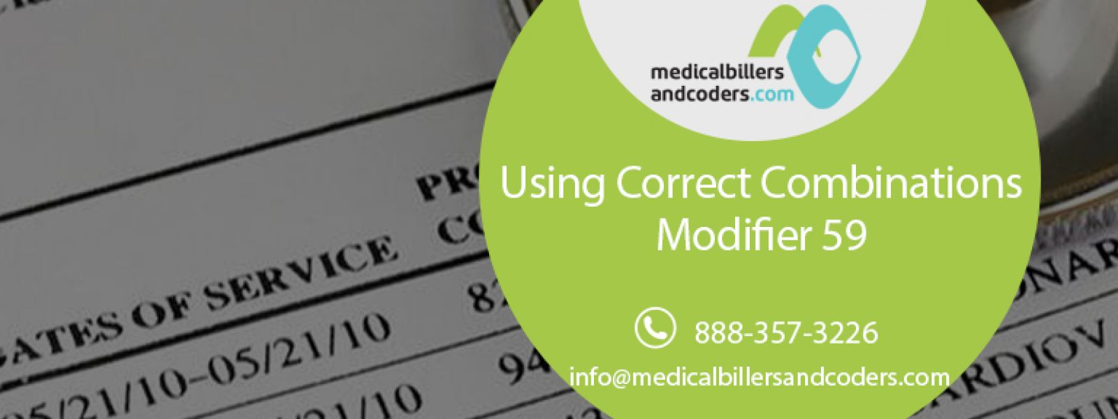 Using Correct Combinations – Modifier 59