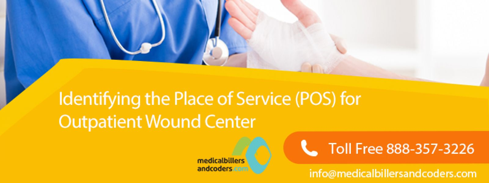 Identifying the Place of Service (POS) for Outpatient Wound Center