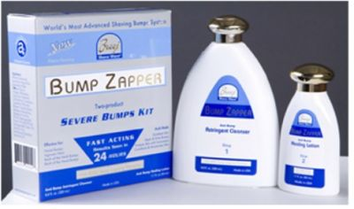 BUMP ZAPPER Severe Bump kit- treats facial bumps and ingrown hair within 24 hrs