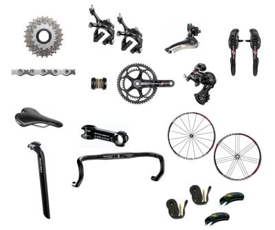 Campagnolo Super Record 11 Speed Premium Build Kit-----$1,250 usd