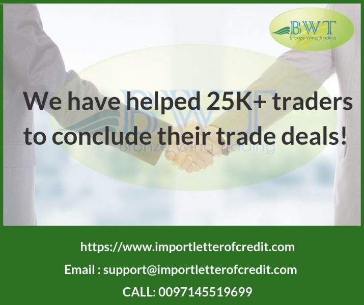 We have helped 25K+ traders to conclude their trade deals!